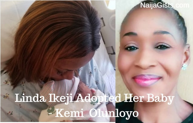 linda ikeji adopted baby