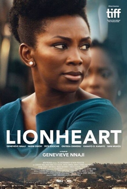 lion heart movie poster