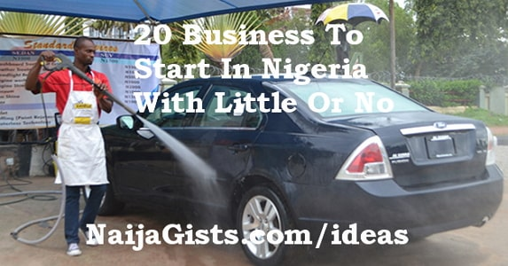 lucrative businesses start nigeria little no money