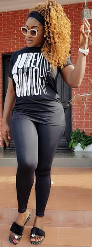 mercy johnson weight loss secrets