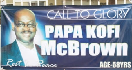 nana ana mcbrown adopted father