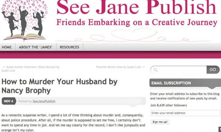 how to murder your husband article by nancy brophy