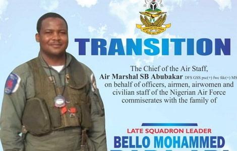 nigerian combat jet pilot dies training abuja