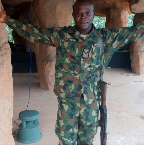 nigerian soldier killed boko haram maiduguri
