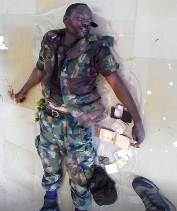 nigerian soldier borno mass shooting