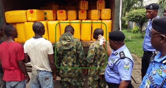 nigerian soldiers aiding boko haram