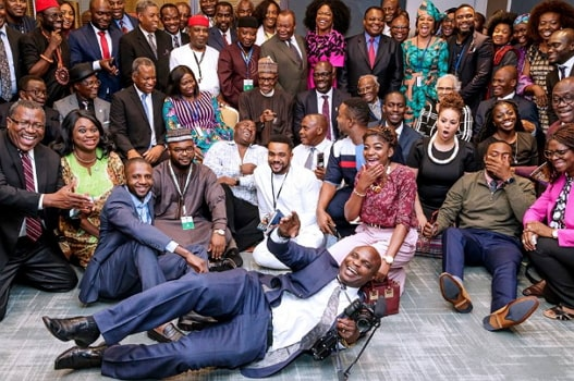 nigerians in new york meet buhari