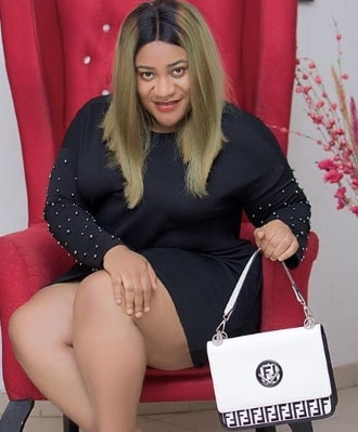nkechi blessing fake fendi bag