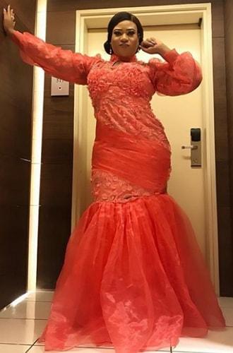 nkechi blessing wedding dress