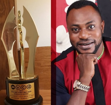 odunlade adekola first africa magic award