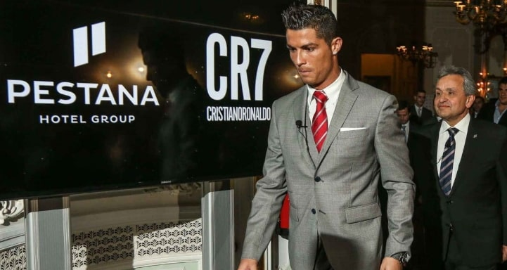 ronaldo invest $150million in hotel hospitality business