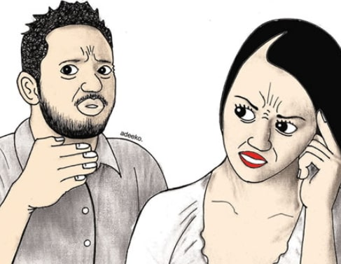 wife divorces husband talks too much