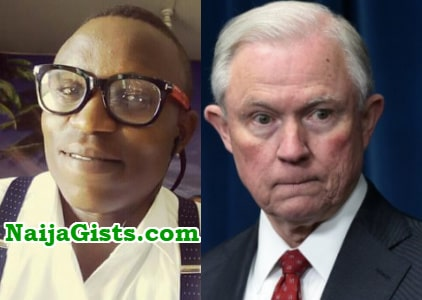 yahoo boy impersonating us attorney general