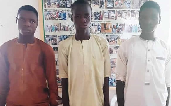young men kidnapped child kano