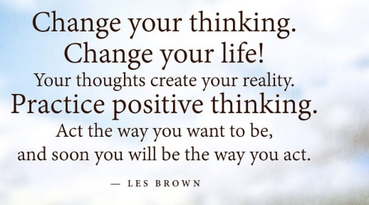 your thoughts create your reality quotes