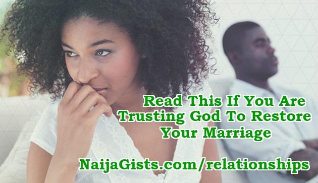 God's will marriage restoration divorce