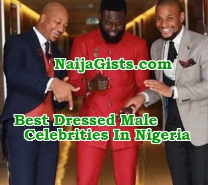 best dressed nigerian male celebrities 2018