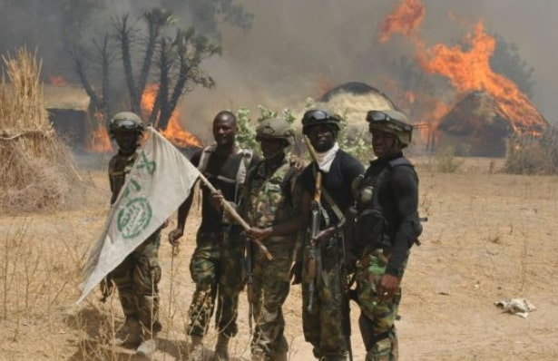 boko haram training camp destroyed