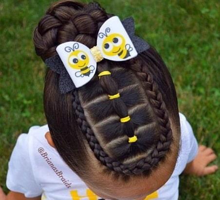 braided hairstyles black girls 2018