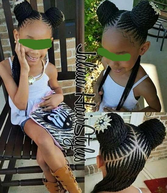braids hair styles for black girls