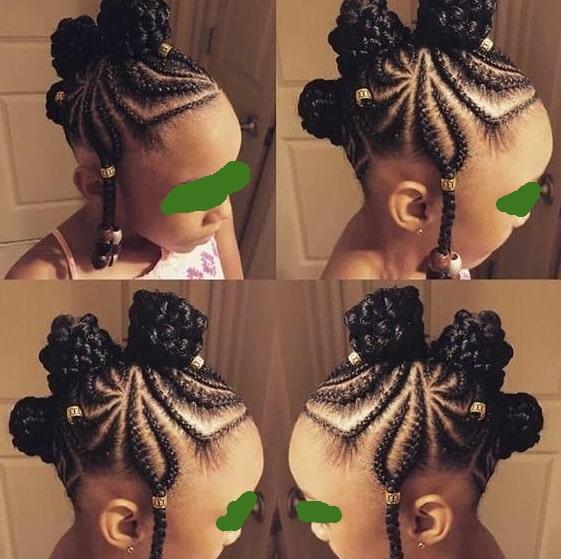 braids hairstyle girls