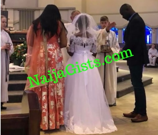 chris attoh US doctor wedding photos