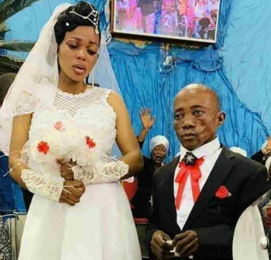 congolese bride abandons husband wedding day