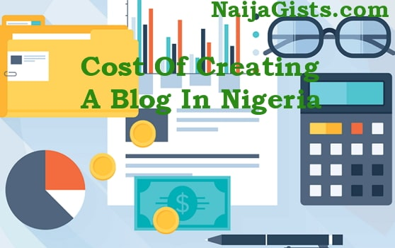 cost of creating a blog in nigeria