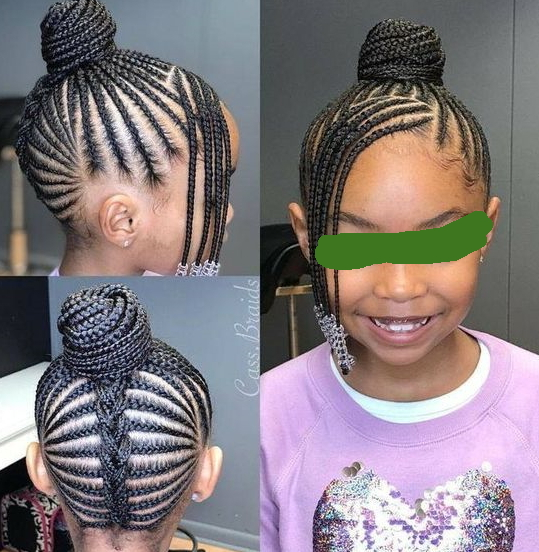 cute braided hairstyles black girls