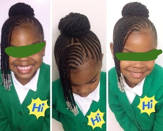 easy braided hairstyles girls