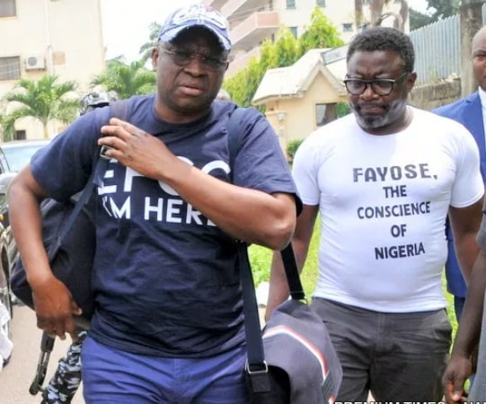 efcc moves fayose to lagos