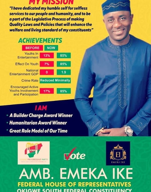 emeka ike campaign poster