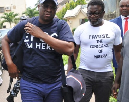 fayose efcc detention