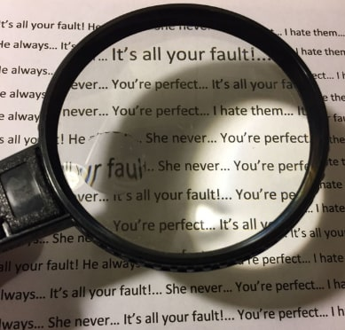 finding faults in others