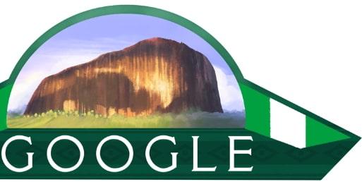 google doodle nigeria at 58
