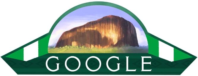 google doodle nigeria @ 58