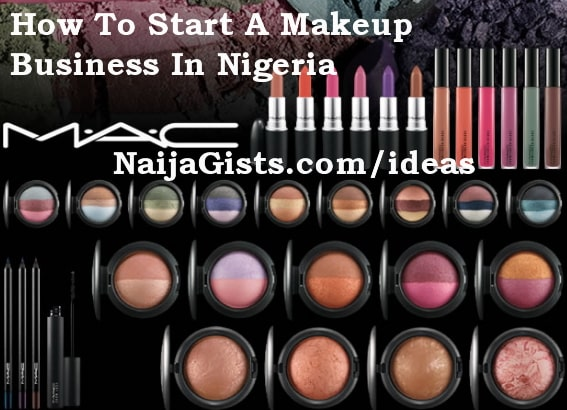 how to start makeup cosmetics business nigeria