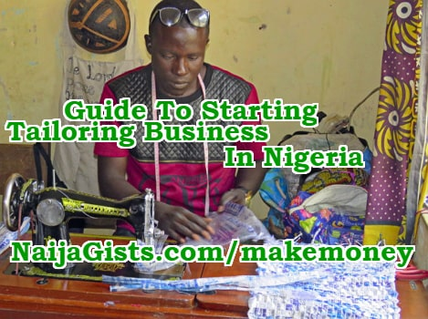how to start tailoring business nigeria