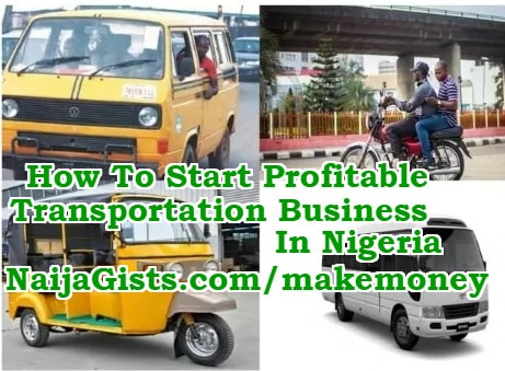 how to start transportation business in nigeria
