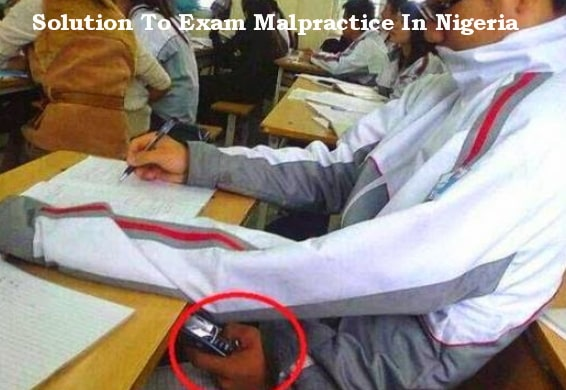 how to stop examination malpractices nigeria
