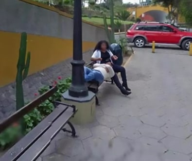 husband catches cheating wife google maps