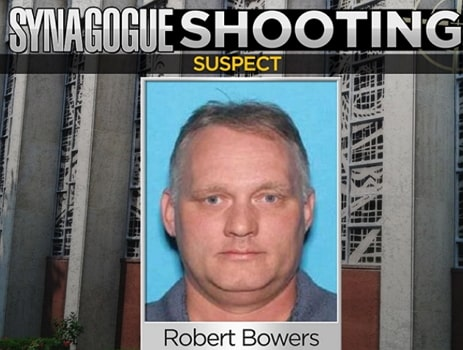 Pittsburgh jewish synagogue mass shooter arrested