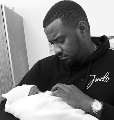 john dumelo wife gives birth