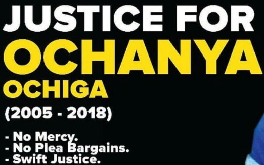 justice for ochanya photos