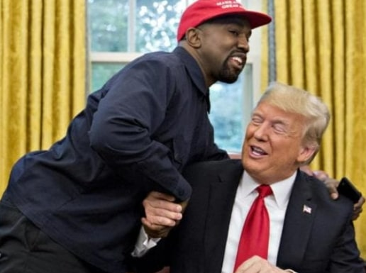 kanye west withdraws support donald trump