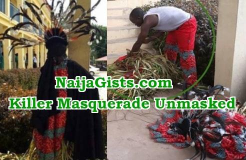killer masquerade akure unmasked akure