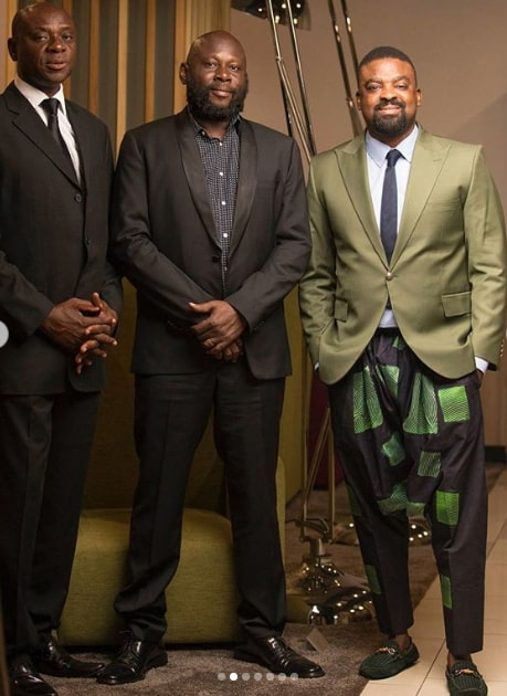 kunle afolayan new clothings line