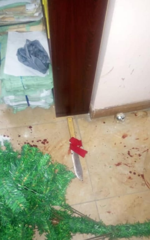 lagos lawyer stabbed security guards