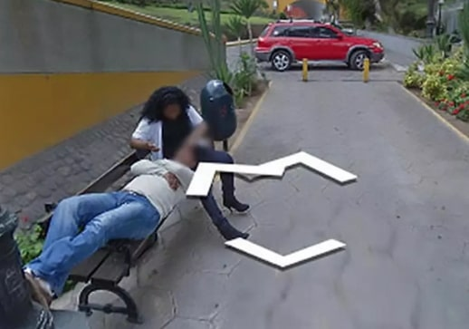 man catches cheating wife google maps lima peru