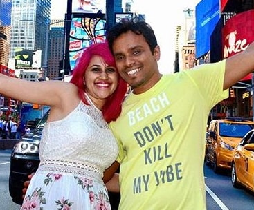 new york indian travel bloggers die california